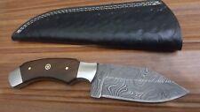 (  Hand Made Damascus Steel Blade Hunting Knife,Art no (1526)