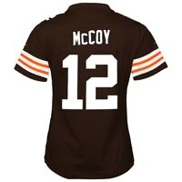 Colt McCoy Cleveland Browns Nike Home Brown Jersey Girls Youth (S-XL)