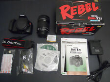 Canon Rebel T2i EOS 550D Digital SLR Camera Kit with Canon 18-135mm Lens, Extras