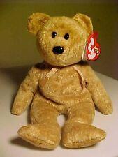 Retired Beanie Babies Cashew the Bear birth 4 22 2000 bef56904b32d