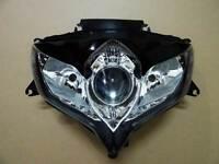 Front For Suzuki Headlamp Headlight Light 09 GSX-R600/750 K8 2008-2010 Assembly