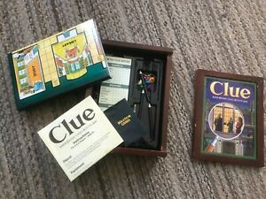 Clue Vintage Game Collection Bookshelf Edition Wooden Box replacement pieces