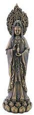 "7.5"" Avalokiteshvara Quan Yin Statue Sculpture Decor Eastern Kuan Guan Kwan"