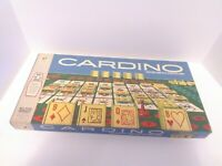 Vintage 1970 Cardino Card Tile Strategy Game Milton Bradley 100% Complete