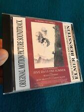 Rare CD-FIVE DAYS ONE SUMMER-Original Movie Soundtrack-Elmer Bernstein