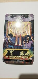 Evil Dead 2 DVD  Region 1 Limited Edition  2000 Anchor Bay Collectors Tin *RARE*