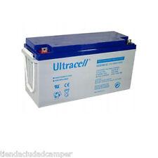 Batería Gel Ultracell 150A 12v Ciclo Profundo no AGM Furgoneta Autocaravana
