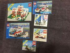 """Lego - Vintage 6380 """"Emergency Treatment Center"""" + 5 Other Medical/Police Sets"""