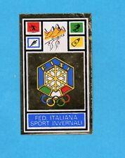 CAMPIONI SPORT 1969-70-PANINI-Figurina- FISI SPORT INVERNALI -STEMMA/BADGE-Rec