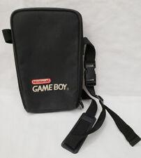 Official Nintendo Original Game Boy Black Red Carrying Case GameBoy Color Logo