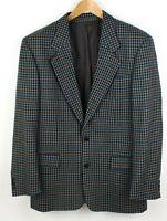 HUGO BOSS Herren CORLEONE Wolle Formelle Jacke Blazer Größe 98 Eu:50 Eu:40