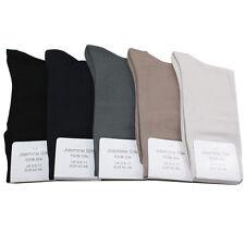 Jasmine Silk Hommes de Luxe 100% Soie Chaussettes Soirée Chaussettes Thermiques
