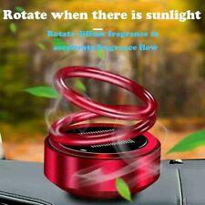 Solar Auto Rotating Car Perfume Car Air Freshener Lovely smell