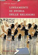 Ambrogio Donini = LINEAMENTI DI STORIA DELLE RELIGIONI