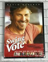 Swing Vote Kevin Costner DVD Movie Nathan Lane New Factory Sealed PG-13 Comedy