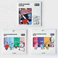 BTS BT21 Official Authentic Goods Look Optical Lens Cleaning Cloths + Tracking#