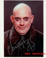 CHRISTOPHER LLOYD.. as Uncle Fester (The Addams Family) SIGNED