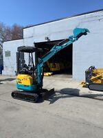 NEW🚨DHE1.8D mini excavator 3,900Lb + 5 attachments Kubota Diesel Engine ⛽️
