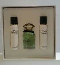 Dolce & Gabbana Dolce Gift Set 2.5 oz EDP Spray 3.3 oz Body Lotion 3.3 oz Gel