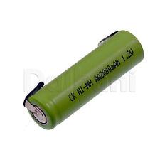 Rechargeable Battery Ni-MH AA Braun Oral-B TriZone Triumph 3754 3756 1.2 2800mAh