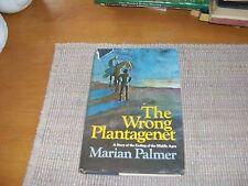 The Wrong Plantagenet by Marian Palmer (1972,HCDJ,Book Club ed.)