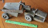 Boomaroo Pressed Steel farm machine tractor articulating Vintage toy Australia
