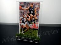 ✺Signed & Framed✺ CHRIS YARRAN Photo PROOF COA Carlton Blues AFL 2020 Jumper