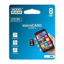 GoodRam microSDHC Speicherkarte 8GB micro SD HC M400-0080R11