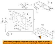 NISSAN OEM Splash Shield-Splash Shield Screw 0145600691