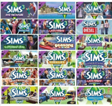 Sims 3 + ALL Expansions & Stuff Packs & bonus UNICORN! PC download offline only
