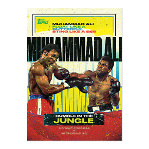 2021 Topps MUHAMMAD ALI - Rumble in the Jungle by Tyson Beck Card #2