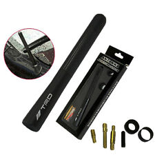 "Black Universal 4.7"" Carbon Fiber Sports Car Antenna Adjustable"