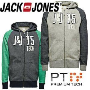 Jack & Jones Tech HAXTON Soft Herren Kapuzen Hoodie -Sonderpreis-