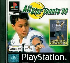 All Star Tennis '99 Sony Playstation 1 PS1 3+ Game