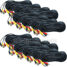 16 Pack 100ft Audio Video Power HD Security Camera Cable CCTV Wire Cord WUQ