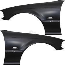 Kotflügel Set rechts & links für BMW  E46 Bj 99-03 Coupe Cabrio mit Blinkerloch