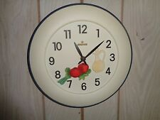 Junghans Made In Germany W 738 Hanging Kitchen Clock With Food Design