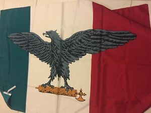 Italy flag WW2.Italian Social Republic.