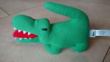 Lacoste Krokodil Rassel Plüschtier neuwertig