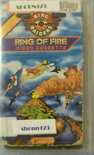 RING RAIDERS RING OF FIRE CHILDREN'S ANIMATED VHS VIDEO CASSETTE
