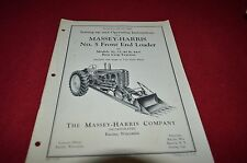 Massey Ferguson Harris 5 Front End Loader Operator's Manual YABE8