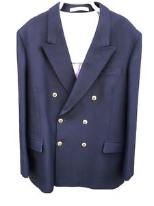 BESPOKE NAVY BLUE BLAZER BY ERTAN BESKARDES,BOURNEMOUTH.