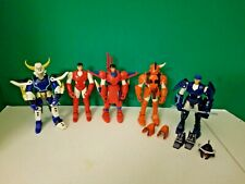 Vintage 1995 Ronin Warriors Figures Armor Accessories Lot Sunrise Playmates Toys