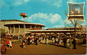 Vtg Schaefer Center Beer Brewing Company New York Worlds Fair 1964-1965 Postcard