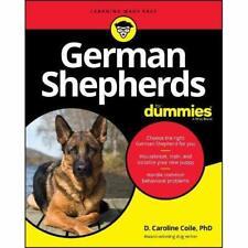 German Shepherds For Dummies - Paperback / softback NEW Coile, D. Carol 11/10/20