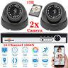 16CH 4CH CCTV DVR Digital Video Recorder Sony Dome & Bullet Camera Security Kit