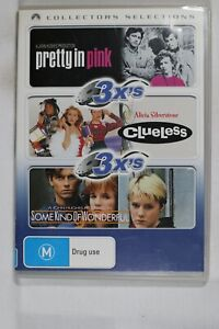 Clueless / Pretty in Pink / Some Kind of Wonderful Reg 4 Like New (D757)