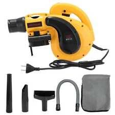 1080W Electric Handheld Car Garden Dust Leaf Air Blower Vacuum Cleaner 6 Speed