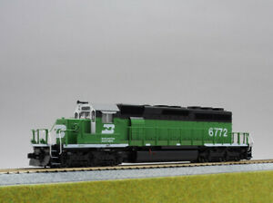 HO Scale Kato 37-6601A EMD SD40-2 Mid Burlington Northern #6772 from Japan H0