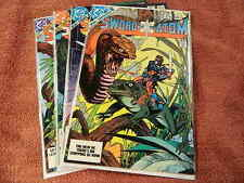 1983 DC Comics SWORD Of The ATOM #1-4 Complete Limited Series GIL KANE Art - VF